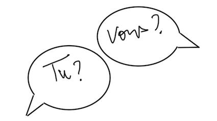 «TU» O «VOUS» ?
