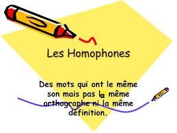 HOMÓFONOS