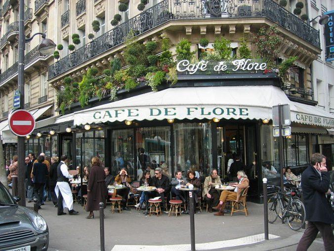 CAFÉS MÍTICOS EN PARÍS
