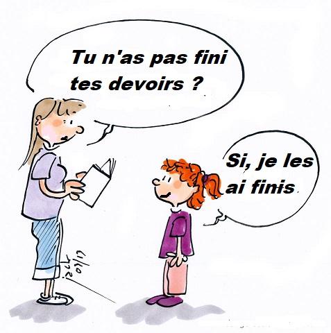 """DIFERENCIA ENTRE """"OUI"""" Y """"SI"""" EN FRANCÉS"""